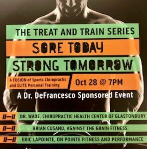Treat & Train Flyer